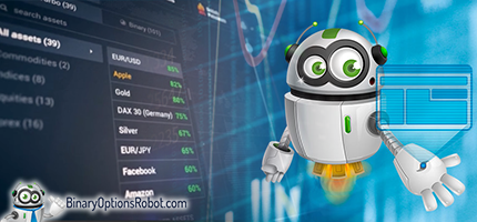 Robot trading binary options