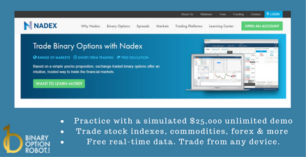 Binary options robot demo
