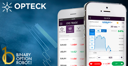 Opteck binary options platform