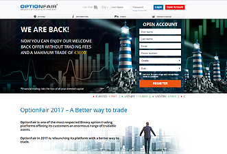 Optionfair - binary options online trading