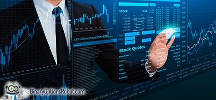 Binary options trading simulation