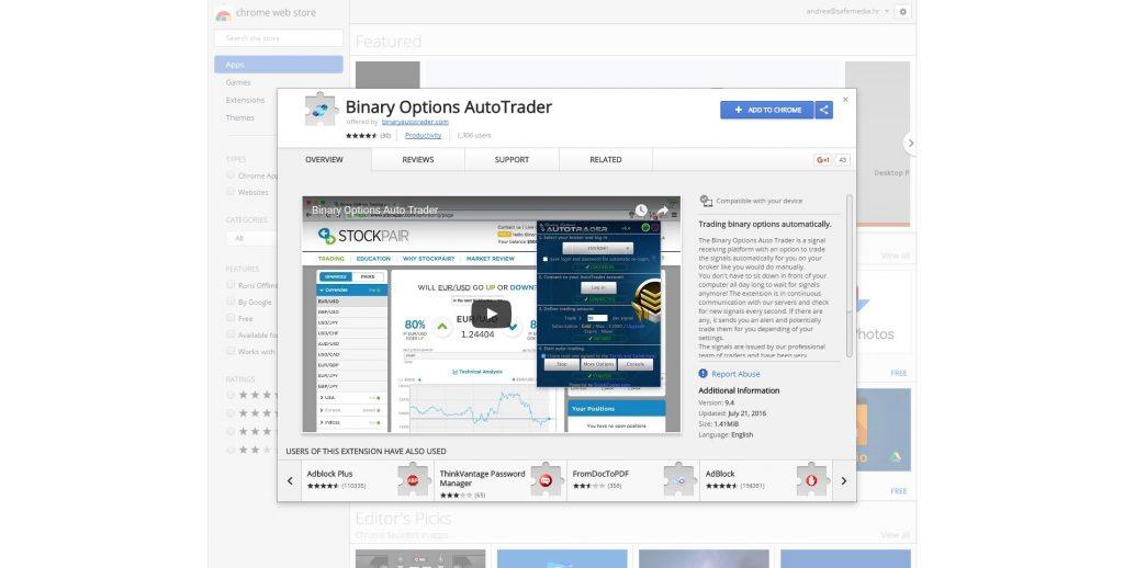 binary options autotrader bitcoin bot broker